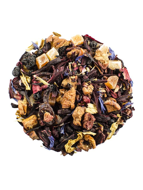 Herbal Mango Strawberry Tea Tisane, herbal tea, mango strawberry tea, mango tea, strawberry tea, tisane tea, loose leaf tea, loose leaf herbal tea, loose leaf mango strawberry tea, zentea, zentea loose leaf tea, zentea herbal mango strawberry tea